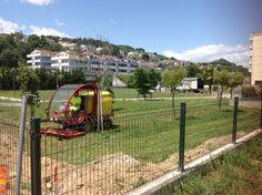 Montesilvano proseguono i lavori di manutenzione del verde