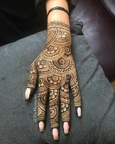 الرجاء الحجز مسبقاً / Advance Booking is Must 33823989 Latest Bridal Mehndi Designs, Indian Henna Designs, Full Hand Mehndi Designs, Beginner Henna Designs, Henna Art Designs, Mehndi Designs For Girls, Modern Mehndi Designs, Dulhan Mehndi Designs, Mehndi Design Photos