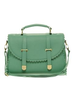 Enlarge ASOS Scallop Detail Satchel Bag