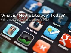 """https://social-media-strategy-template.blogspot.com/ """"What is Media Literacy Today?"""" - A Haiku Deck #setyourstoryfree - fantastic lesson on Media Literacy (including the definitions and examples) - would be great to add to a lesson on media creation and consumption or evaluating content."""