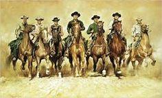 rawhide tv western cowboy art pencil drawings - - Yahoo Image Search Results