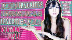 VIVIAN LOVES ♥ Favoritos de Janeiro | 1月のお気に入り紹介 | January Favorites • V...