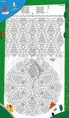 Crochet red net bag with pineapple ornament perfect beach bag Crochet Shell Stitch, Crochet Chart, Crochet Blanket Patterns, Love Crochet, Bead Crochet, Filet Crochet, Crochet Motif, Crochet Stitches, Crochet Shoulder Bags