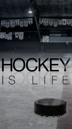 Hockey Is Life I posted the same wallpaper a little earlier for the iPhone but here's the version for the iPhone Hockey Posters, Flyers Hockey, Hockey Quotes, Blackhawks Hockey, Hockey Teams, Chicago Blackhawks, Hockey Girls, Hockey Mom, Field Hockey