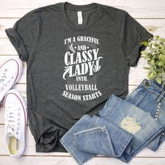 I'm A Knitting Mom just like a normal mom Tshirt /Knitting mom/knitting tshirt /knitting fans/k Volleyball Outfits, Volleyball Shirts, Volleyball Setter, Volleyball Quotes, Volleyball Pictures, Cheer Pictures, 65th Birthday Gift, Birthday Gifts For Women, Buy Shirts