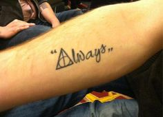 "HP. ''Always,"" This is pretty much almost exactly what I want."