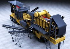 manufactures and sells stone crushing machinery. The concrete and asphalt products with which we are familiar contain a high proportion of crushed rock and sand.