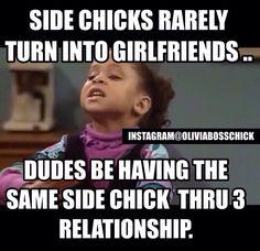 Side chicks - relationships