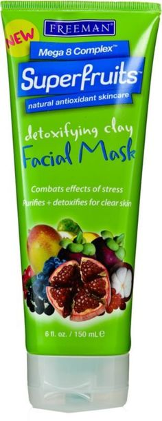 Freeman's Superfruits Detoxifying Clay Facial Mask.