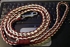 Check out this item in my Etsy shop https://www.etsy.com/listing/254580634/custom-paracord-leash