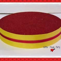 Red / yellow stand - cakepops or lollipops stand - candy buffet - red stand