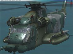 MH-53J Pave Low Helicopter