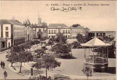 Faro : Praça e Jardim D. Fransisco Gomes