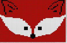 Tricksy Knitter Charts: Fox face by Sandra