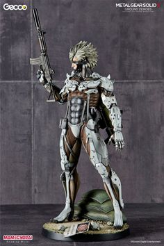 "[Gecco] 1/6 Metal Gear Solid V Ground Zeroes ""Jamais Vu Mission"" RAIDEN statue White Armor Ver. Full Official PHOTOREVIEW, Info Release http://www.gunjap.net/site/?p=244919"