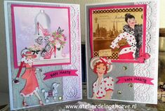 Marianne Design, Art Deco, Cover, Women, Cards, Art Decor