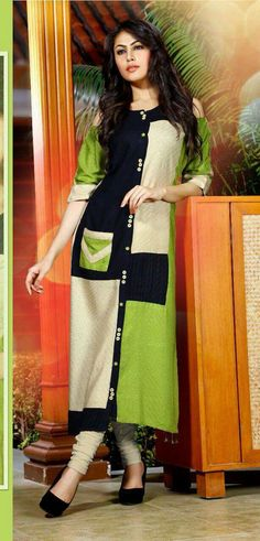 Love the color combinations! Pakistani Fashion Casual, Indian Fashion, Kurta Designs, Blouse Designs, Stylish Dresses, Simple Dresses, Cool Outfits, Fashion Outfits, Womens Fashion