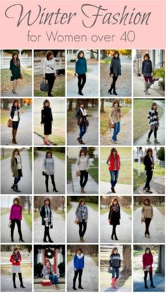 Well, another series is over! Today I'm sharing my 25 Days of Winter Fashion Review. This is winter fashion for women over 40.