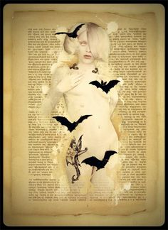 """Pinup II, the Ghost Girl"" by Bethalynne Bajema. Photography Illustration, Art Photography, Illustration Art, Illustrations, Vampire Bride, Creepy Halloween, Happy Halloween, Danse Macabre, Traditional Art"