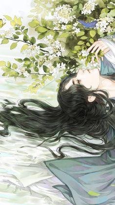 微博 My Fantasy World, Fantasy Art, Chinese Artwork, Cute Anime Coupes, Shall We Date, Fox Art, Human Art, Disney Fan Art, Ancient Art