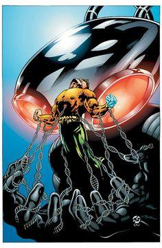 Aquaman vs Black Manta by Patrick Gleason
