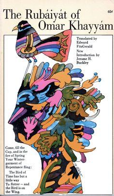 The Rubáiyát of Omar Khayyám, 1966 Artwork by Milton Glaser via Ragged Claws Network