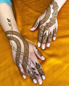 Mehndi is a beautiful form of body art and imprints of Mehendi on hands and feets make the celebration a special one. Here is the list of various types Of mehndi designs which are popular around the globe. Henna Hand Designs, Eid Mehndi Designs, All Mehndi Design, Stylish Mehndi Designs, Mehndi Design Photos, Beautiful Mehndi Design, Latest Mehndi Designs, Mehndi Designs For Hands, Mehndi Patterns