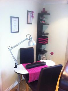 Nail room ideas                                                                                                                                                                                 More