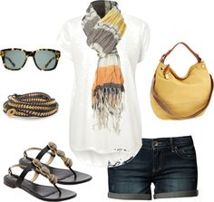 """""""casual summer"""" by marnifox on Polyvore"""