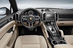 New Review 2016 Porsche Cayenne Turbo S Specs Interior View Model