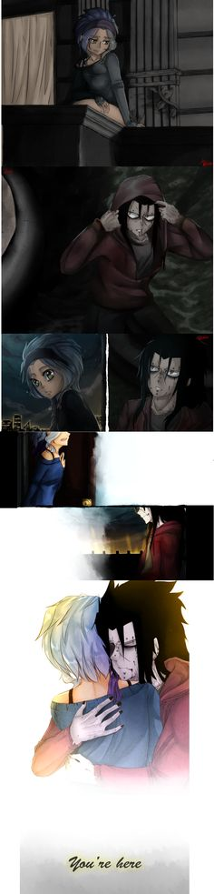 Gajeel and Levy zombie love