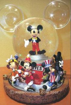 Disney Snowglobes Collectors Guide: Mickey Through the Years Snowglobe