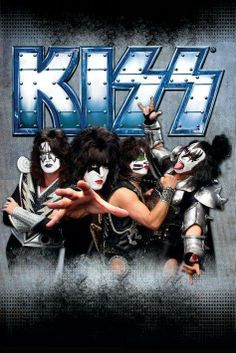 The KISS (band) Block on Yardsellr photo KISS band poster - Monsters - Kiss Music poster