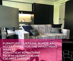Creating affordable bespoke furniture packages for the #investmentmarket #IndigoInteriors are your #Boutique #Furnishing company #familyrunbusiness #bespokefurniturepackages #quality #dresstosell #dresstolet #curtainsandblinds #homestaging #celebrating18years