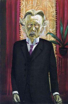 Portrait of Dr Heinrich Stadelmann - Otto Dix