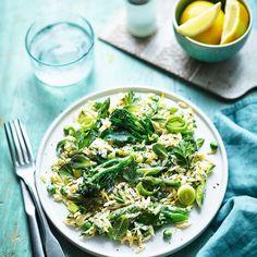 Home Recipes, Veggie Recipes, Healthy Recipes, Healthy Pasta Salad, Healthy Salads, Tasty, Yummy Food, Fresh Herbs