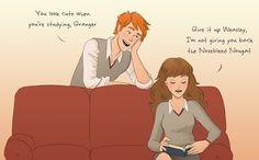 fred weasley hermione granger fremione otp