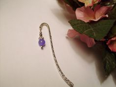 Decorate your Books  Lavender Alexandrite and by RomanticThoughts, $7.50, #RomanticThoughts.etsy.com, #bookmark