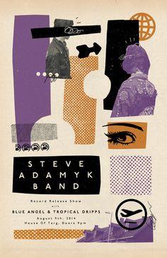Steve Adamyk Band - Tropical Dripps - Blue Angel