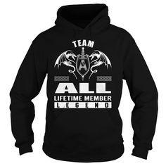Team ALL Lifetime Member Legend - Last Name, Surname T-Shirt