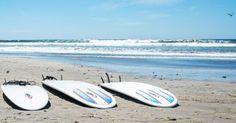 Playa Guiones, Guanacaste es emocionante. Usted puede navegar en el agua.