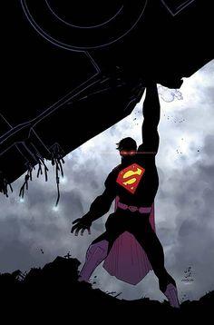 Superman #35 cover by John Romita Jr and Klaus Janson