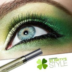 Green eyes for St. Patrick's Day? We say fake it till you make it.