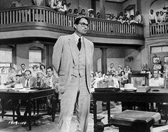 "Gregory Peck - ""To Kill a Mockingbird"""