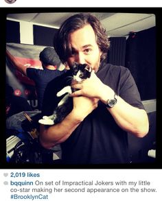 If y'all know me, you know I love Impractical Jokers...and Brian Quinn!!