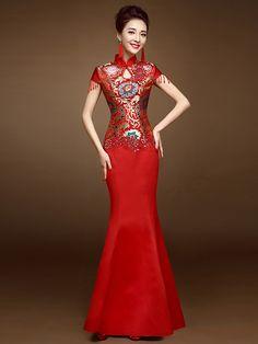 Fashionable Fishtail Style Wedding Dress