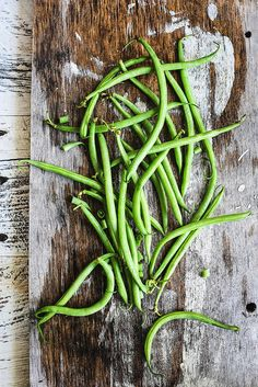 Food photography | haricots verts / green bean... from circahappy.com