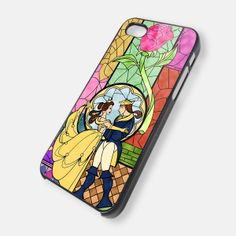 ROSE BEAUTY AND THE BEAST 4/4s,5/5s/5c, Samsung Galaxy s3/s4 Case
