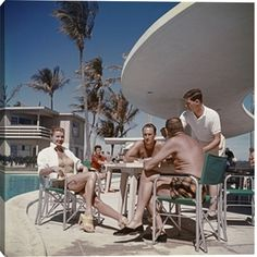 Esther Williams In Florida print by Slim Aarons at Photos.com 77442683