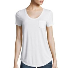 jcp   Stylus ™ Relaxed Fit Scoop Neck T-Shirt